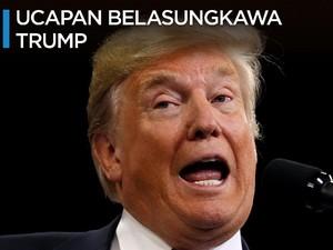 Sebut RI Sahabat, Donald Trump Sampaikan Belasungkawa