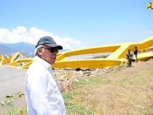 Kena Gempa Palu, Jembatan Lengkung Ke-3 di Dunia Diperbaiki