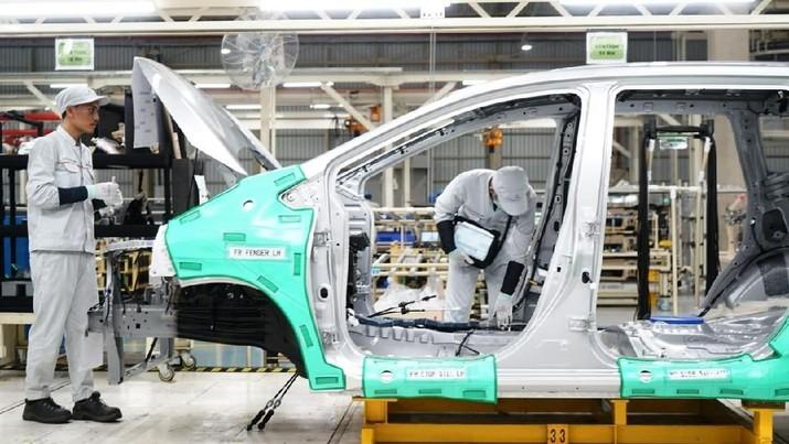 Penjualan mobil kembali melandai pada Januari 2020.