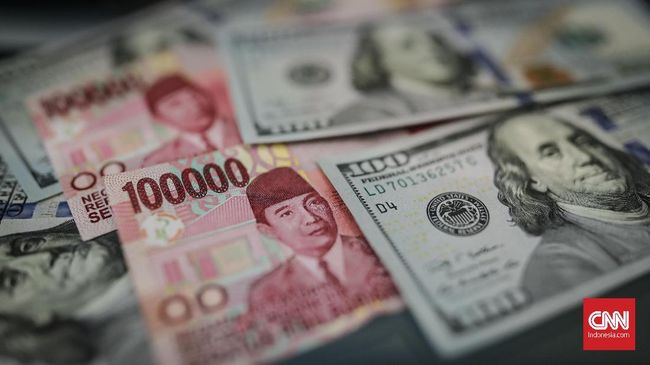 Sentimen Domestik Kerek Rupiah ke Rp14.054 per Dolar AS