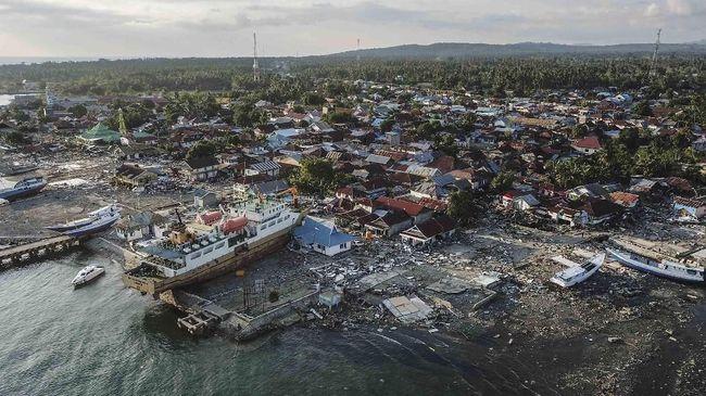 Peneliti Sebut Tak Menyangka Gempa Palu Berujung Tsunami