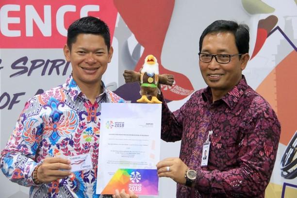 Ini Momo Maskot Asian Para Games 2018