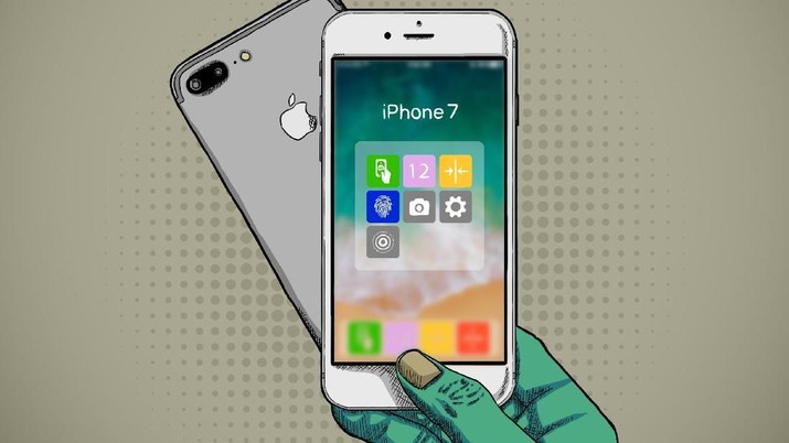 iPhone 7 memiliki fitur dan teknologi yang sesuai