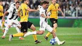 Dybala Pemain Ke-4 Juventus yang Hattrick di Liga Champions