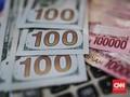 Rupiah Keok ke Rp13.712 per Dolar AS di Awal Pekan