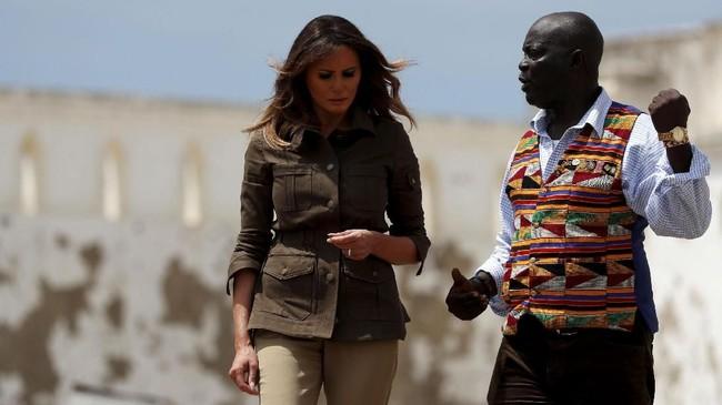 Dalam rangkaian lawatannya kali ini, ia akan berkunjung ke Kenya, Malawi, dan Mesir. (Reuters/Carlo Allegri)