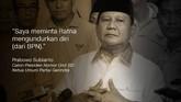 Prabowo Subianto, Calon Presiden Nomor Urut 02/Ketua Umum Partai Gerindra.