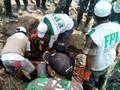 Relawan FPI Terjebak Longsor Hingga Pingsan di Sigi Palu
