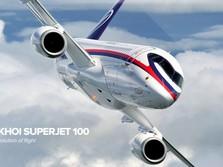 Mangkrak di Batam, Tarif Parkir Sukhoi SSJ 100 Rp 130 Juta