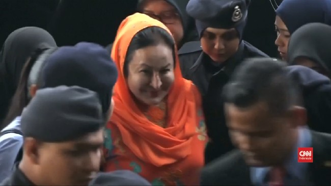 VIDEO: Istri Najib Razak Terancam Hukuman Penjara 15 Tahun
