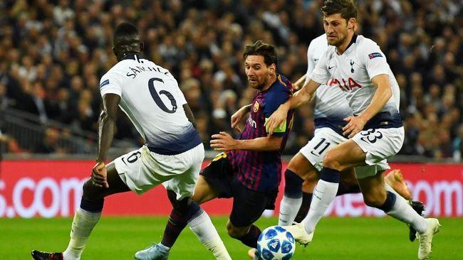 6 Statistik Apik Barcelona Kalahkan Tottenham Hotspur