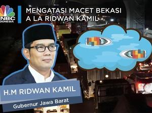 Melihat Jurus Ridwan Kamil Atasi Kemacetan Stres Bekasi-DKI