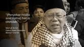 Ma'ruf Amin, Calon Wakil Presiden Nomor Urut 01.