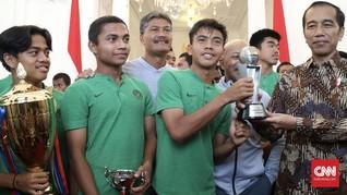 Jokowi Carikan BUMN untuk Bantu Timnas Indonesia U-16