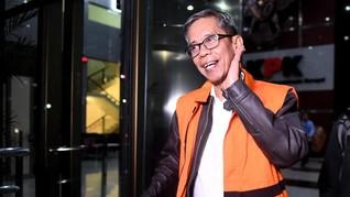 Ditahan KPK, Bos Kantor Pajak Ambon Dorong Wartawan