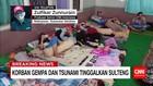 Korban Gempa dan Tsunami Mengungsi ke Sulawesi Selatan