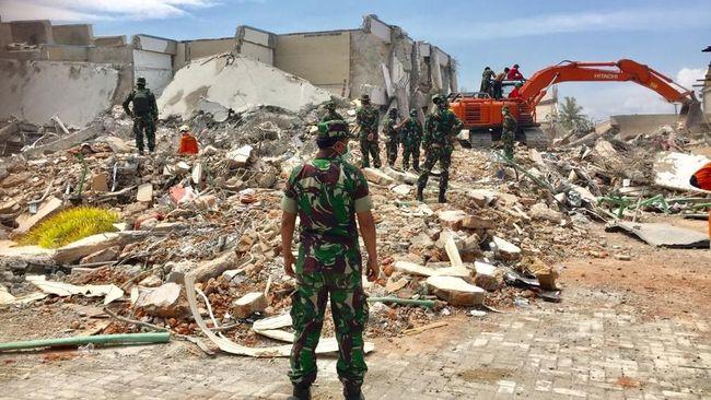 Kerugian dan Kerusakan Gempa di Sulteng Capai Rp13,82 Triliun