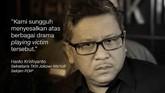 Hasto Kristianto, Sekretaris TKN Jokowi-Ma'ruf/Sekjen PDIP.