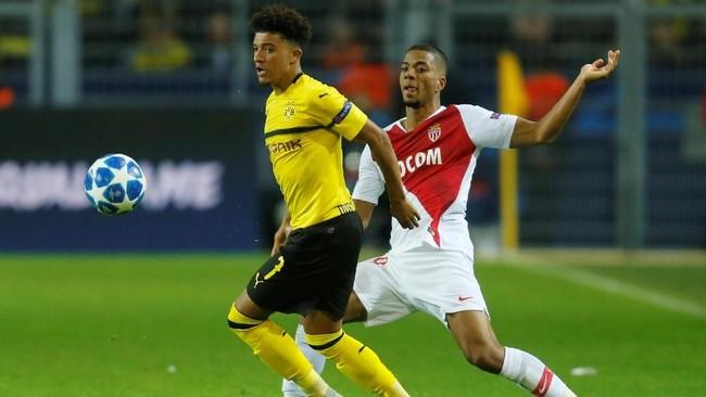 Manchester United dikabarkan Independent sudah mengajukan penawaran sebesar £100 juta kepada Borussia Dortmund untuk mendapatkan Jadon Sancho. (REUTERS/Leon Kuegeler)