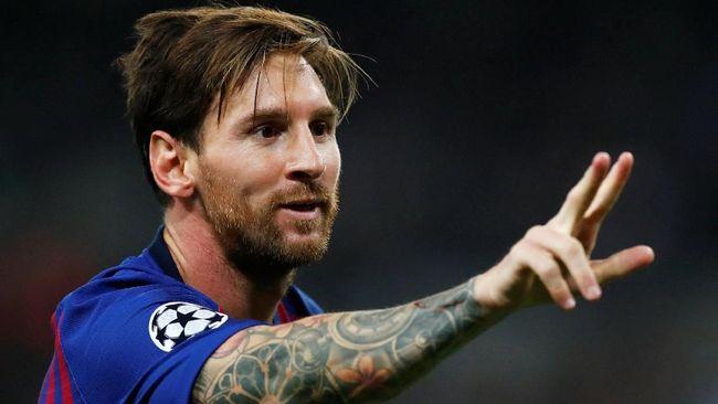 Pelatih Barcelona Tak Yakin Messi Fit Lawan Inter