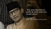 Sandiaga Uno, Calon Wakil Presiden Nomor Urut 02.