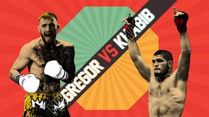 INFOGRAFIS: Data Penting Jelang McGregor vs Khabib