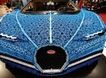 Keren, Mobil Bugatti Chiron ini Dilapisi 1 Juta Lego