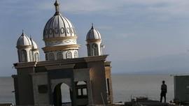 FOTO: Rupa Masjid Kebanggaan Palu Pascatsunami