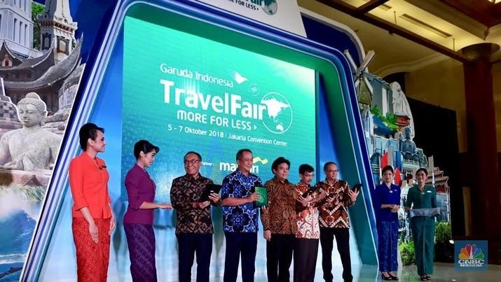 Mandiri Targetkan Rp 488 M dari Garuda Travel Fair