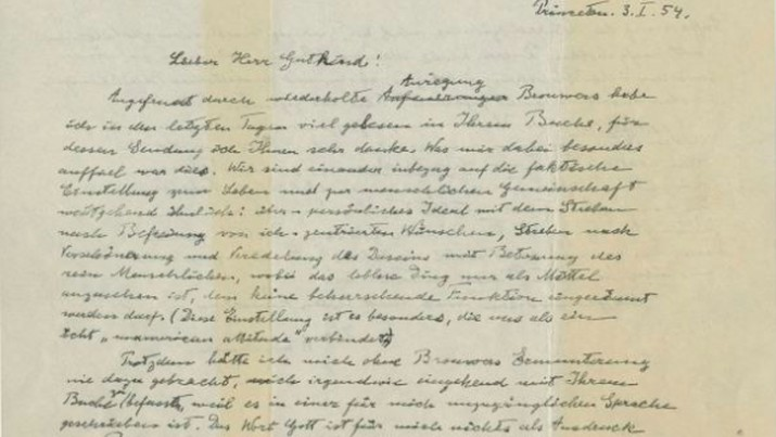 'Surat Tuhan' Einstein Dilelang hingga Rp 22,8 M di New York