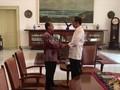 VIDEO: Bincang Sutopo dan Jokowi di Istana Bogor