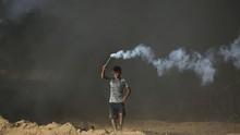 Remaja Tewas Tertembak dalam Bentrokan di Jalur Gaza