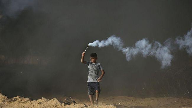 Bocah Palestina Tewas Akibat Bentrokan dengan Militer Israel