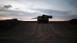 Balas Proyektil, Israel Arahkan Tembakan Tank ke Hamas