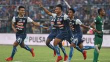 Arema FC Kalahkan Bali United 3-1