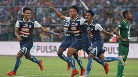Hajar Persita 6-1, Arema Lolos Perempat Final Piala Presiden