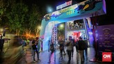 Gelaran musik Synchronize Festival 2018 kembali digelar di Gambir Expo, Jakarta, 5 Oktober 2018. (CNN Indonesia/Bisma Septalisma)