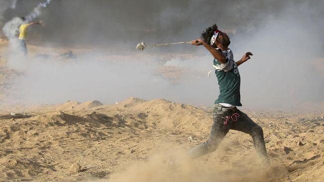 Sepekan Berjuang Pulih, Korban Bentrok Jalur Gaza Meninggal