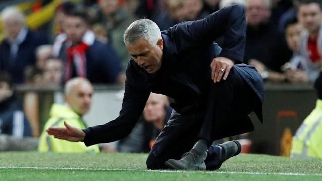 Manchester United yang kini berpoin 13 hasil dari empat kemenangan dan satu kali seri menempati peringkat kedelapan dalam klasemen Liga Inggris 2018/2019. (REUTERS/Phil Noble)