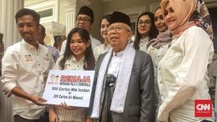 Ma'ruf Amin Tak Keberatan PA 212 Kawal Pemeriksaan Amien Rais