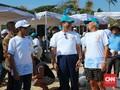 Bos IMF Tanam Terumbu Karang di Laut Bali