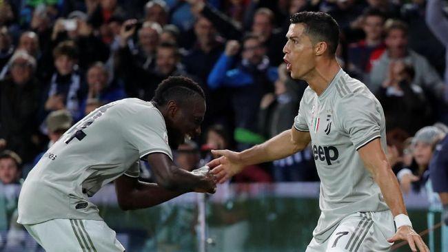 Gol Ronaldo Bantu Juventus Tekuk Udinese, Madrid Kalah Lagi