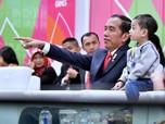 Saat Jokowi Momong Jan Ethes di Opening Asian Para Games