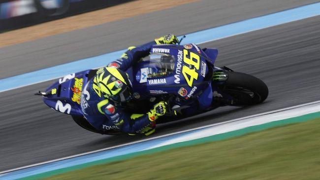Valentino Rossi Tak Bisa Bedakan Mesin Baru Yamaha