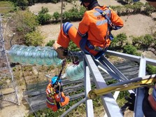 7 Gardu PLN Pulih, LIstrik Palu-Donggala Berangsur Normal