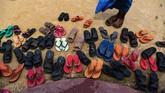 Madrasah ini didirikan karena merekja tidak diizinkkan untuk membuat sekolah formal (AFP PHOTO / CHANDAN KHANNA)