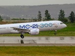 Ini Dia Irkut MC-21, Pesawat Rusia yang akan Dipakai Merpati