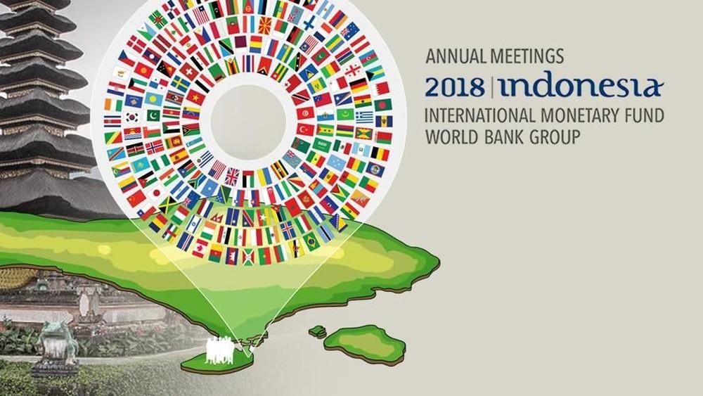 Gelaran IMF-World Bank Annual Meetings di Bali 2018