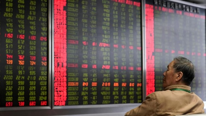 Indeks Shanghai dibuka menguat 0,71% ke level 2.660,09.