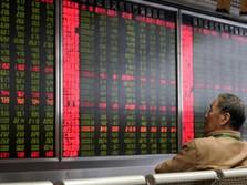 Bursa Asia Mayoritas Merah, Bursa China & RI Selamat